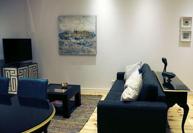 Apartamento en Setúbal - Elegante apartamento en el centro de Setúbal con aire acondicionado.