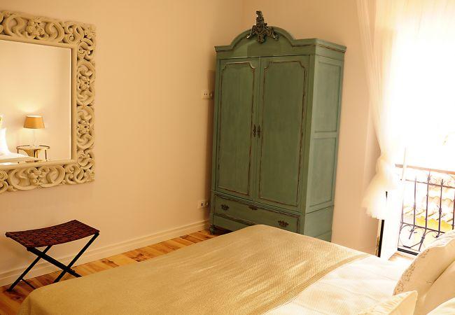Apartamento en Setúbal - Apartamento de dos dormitorios con aire acondicionado en el centro de Setúbal.