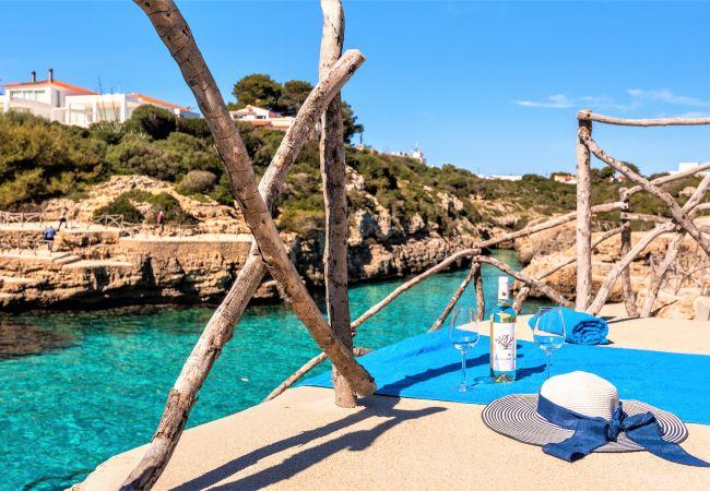Apartamento en Cala´n Blanes - Apartamento con Bajada privada al mar, con piscina y mobiliario NUEVO!!