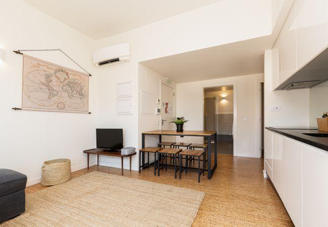 Apartamento em Porto - Galerias Fashion Nightlife Flat (Varanda, Terraço)