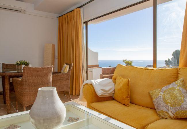 Apartamento em Mijas Costa - Pueblo del Sol - Lovely apartment with Mediterranean Sea View