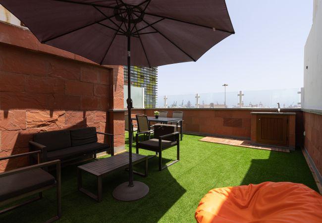 Апартаменты на Las Palmas de Gran Canaria - Duplex with port views terrace By CanariasGetaway