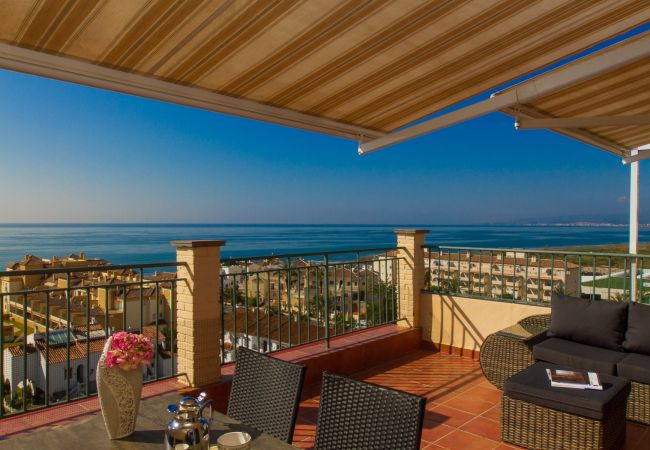 Appartement à Torrox Costa - Panorama - Penthouse with 3 terraces and sea view