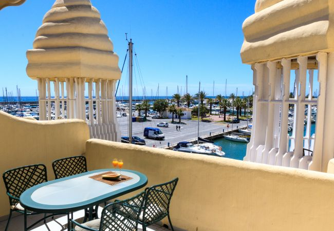Appartement à Benalmadena - Puerto Marina - 2 terraces and direct view to the Marina