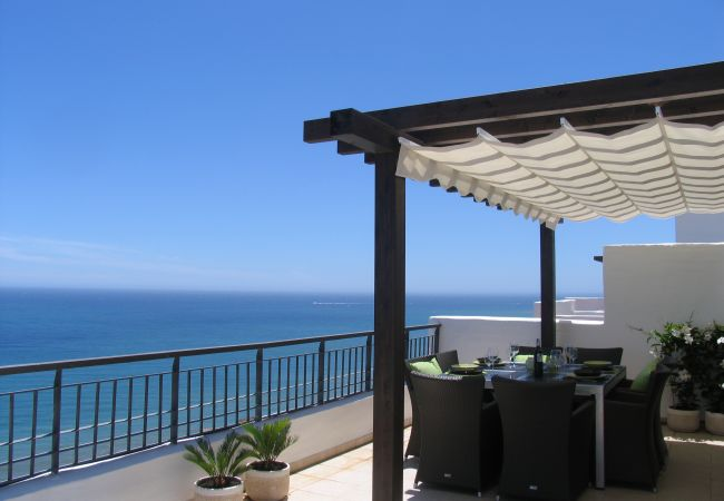 Appartement à Torrox Costa - Penthouse Calaceite Azul - Absolutely unique Mediterranean Sea View