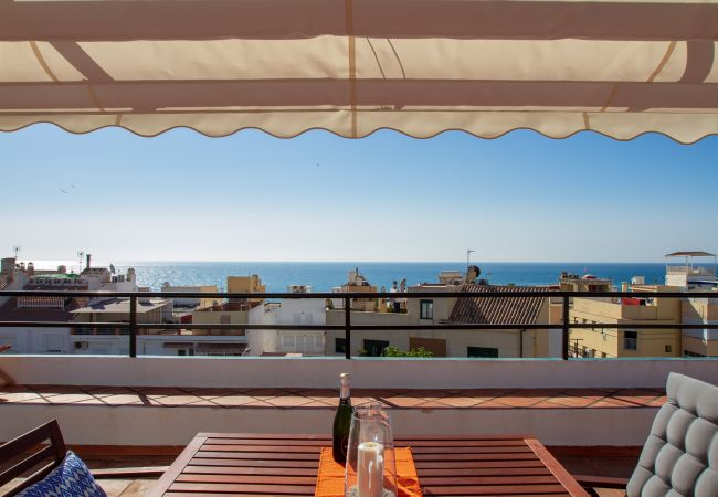 Appartement à Torremolinos - Silvia - Rooftop terrace, sea view, beach apartment, perfect location