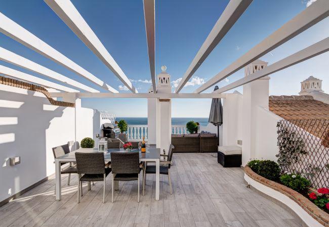 Appartement à Benalmadena - Balcon de Benalmadena - Unique Penthouse Terrace w/ Mediterranean View