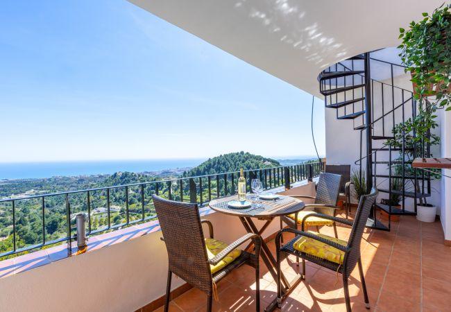 Appartement à Mijas Pueblo - Mijas Heights - Stunning View and Rooftop Terrace