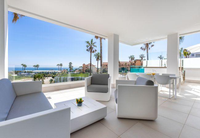 Appartement à Mijas Costa - Santa Barbara Heights CLC - Luxury, private pool on terrace, sea view