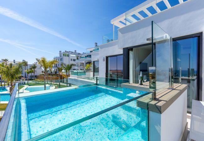 Appartement à Mijas Costa - Santa Barbara Heights II CLC - Luxury, private terrace pool, sea view