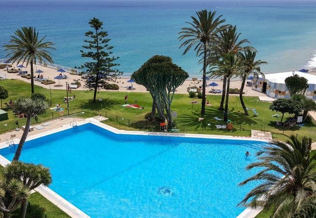 Apartment in Torremolinos - Castillo Santa Clara Torremolinos - Elevator directly to the beach