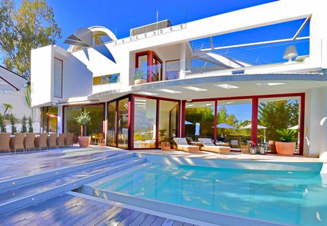 Villa in Marbella - Casa Blanca Marbella - Exclusive Luxury Villa