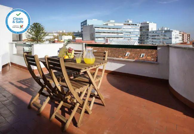 Apartment in Amadora - Amadora Terrace View