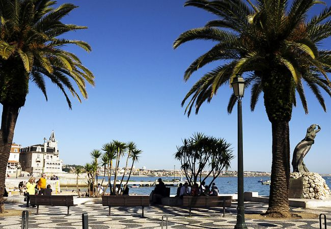 Studio in Cascais - Comfortable apartment in Cascais, open space concept with a personalized decoration.